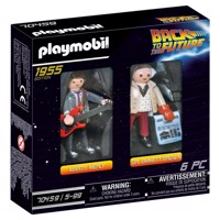 Køb PLAYMOBIL Back to the future Back to the Future samlefigur Dr. Emmett Brown billigt på Legen.dk!