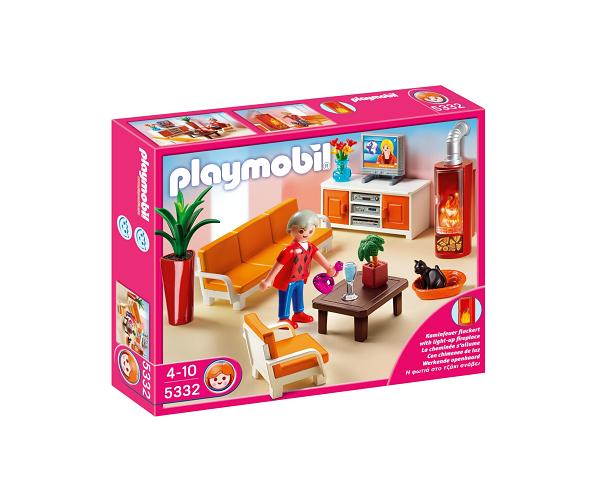 K b playmobil dagligstue til det store dukkehus billigt p - Playmobil wohnzimmer 5332 ...