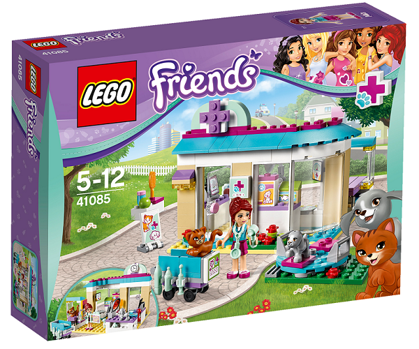 Køb LEGO Friends Dyrlægeklinik billigt på Legen.dk!