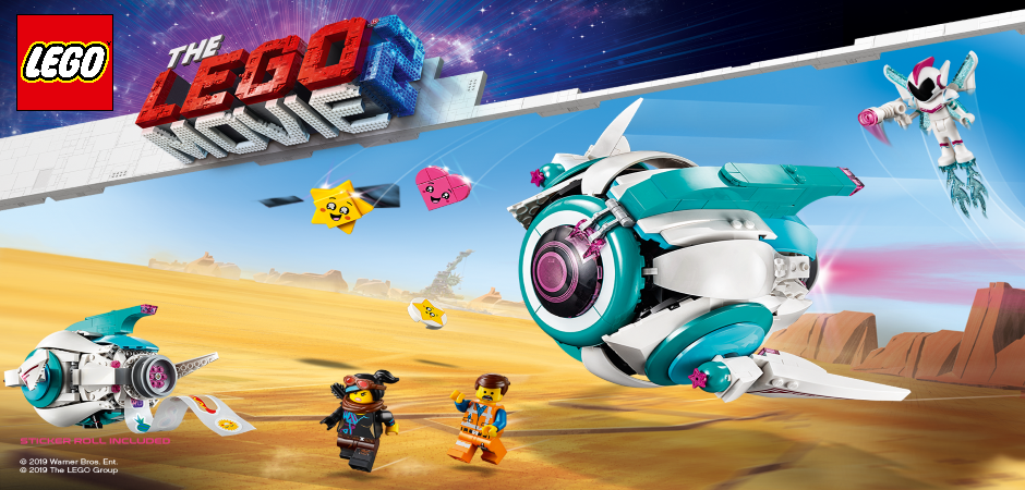 The LEGO Movie 2 - find sættene her-->