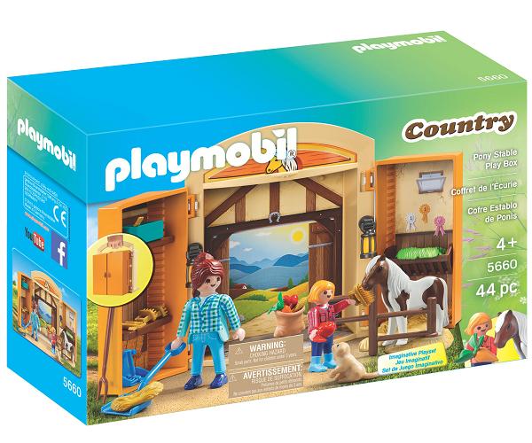 Tidsmæssigt Køb PLAYMOBIL Country Heste Legebox billigt på Legen.dk! AW-19