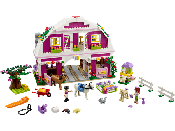 K b friends solskinsfarmen billigt p - Lego friends casa de livi ...