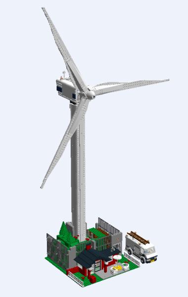 Lego Wind Turbine 4999 Instructions